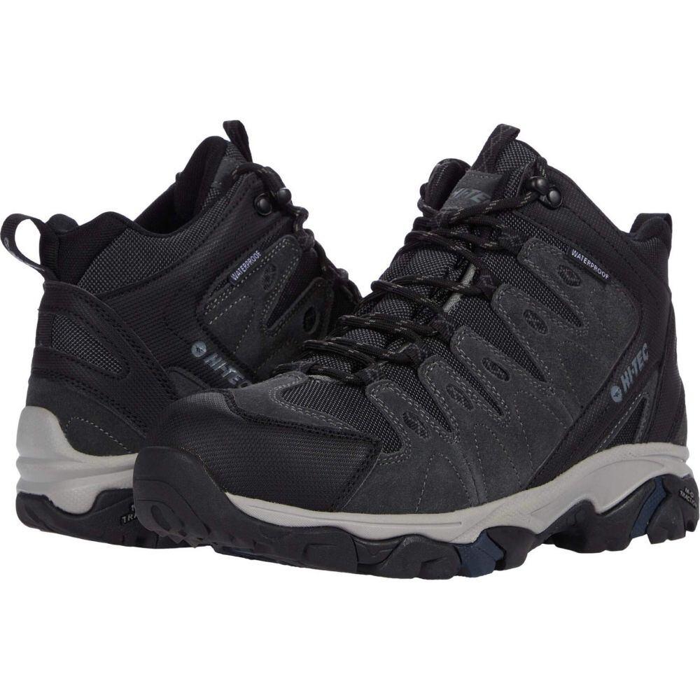 <title>ハイテック メンズ ハイキング 登山 特別セール品 シューズ 靴 Charcoal サイズ交換無料 Hi-Tec Ambleside Mid WP</title>