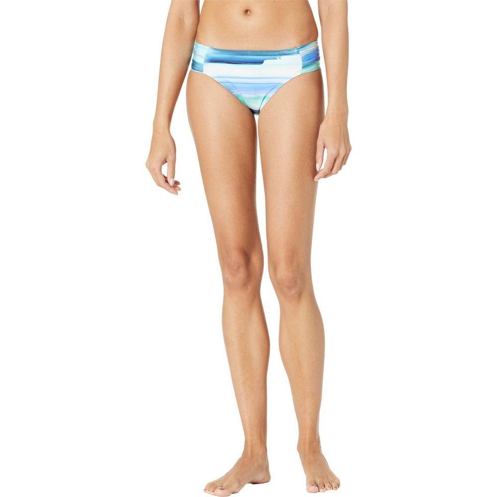 レディース ラブランカ 水着・ビーチウェア【Ocean ボトムのみ La Blanca Hipster】Pacific Blue Shirred Tides