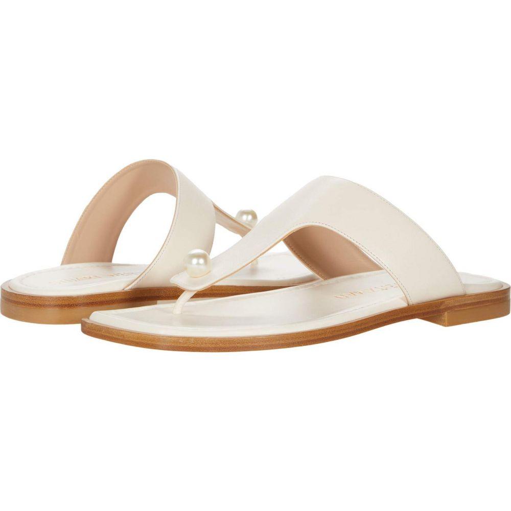スチュアート ワイツマン レディース シューズ 靴 サンダル ミュール Seashell Stuart Goldie 安値 保障 Weitzman Sandal Flat フラット サイズ交換無料