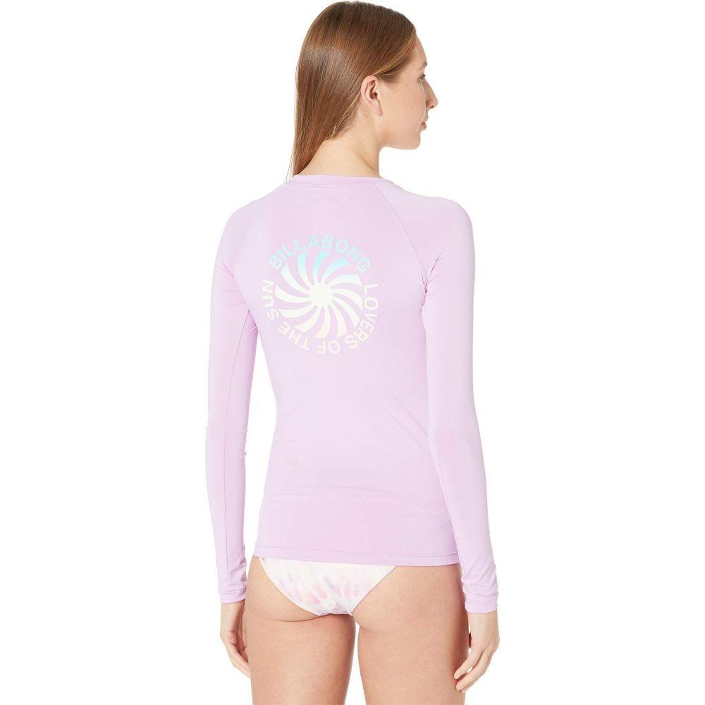 ビラボン 百貨店 レディース 水着 ビーチウェア ラッシュガード Lit Up Lilac アイテム勢ぞろい Rashguard Sleeve Surfadelic Billabong Long サイズ交換無料