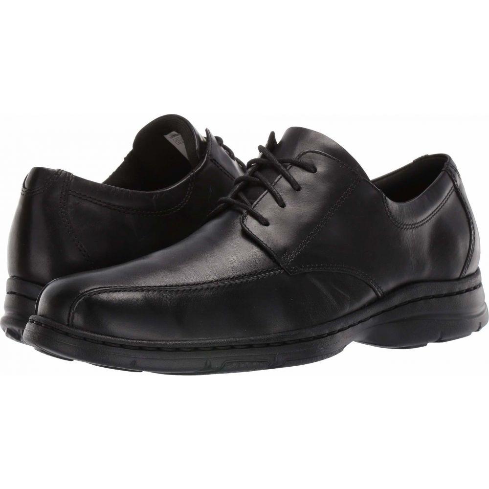 ダナム メンズ シューズ 靴 至高 海外並行輸入正規品 革靴 ビジネスシューズ サイズ交換無料 Bryce Black Smooth Dunham Bikefront