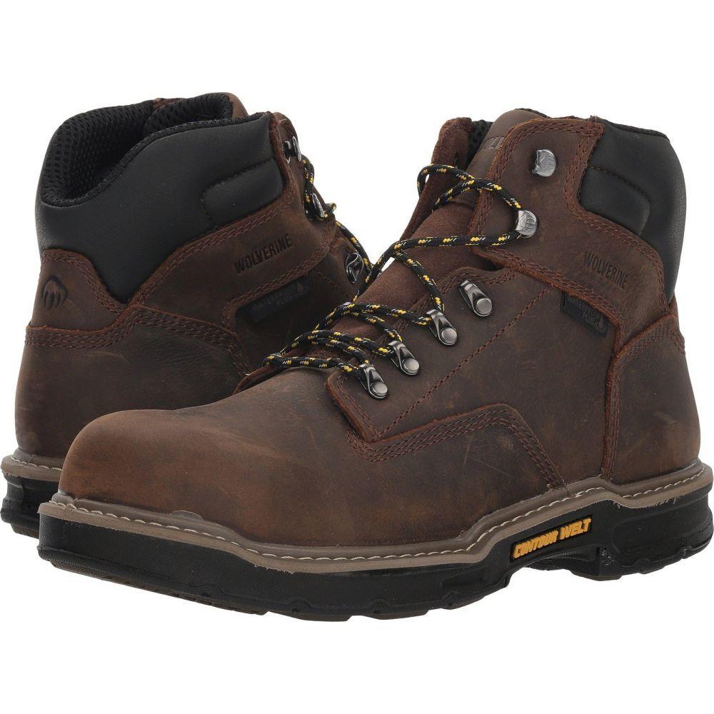 ウルヴァリン メンズ 毎週更新 大人気 シューズ 靴 ブーツ Brown WP 6' Wolverine Carbonmax サイズ交換無料 Bandit