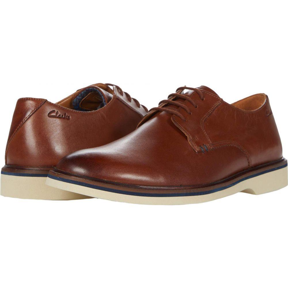 商品追加値下げ在庫復活 クラークス メンズ シューズ 靴 革靴 ビジネスシューズ Dark Malwood Leather Tan Plain Clarks 人気の定番 サイズ交換無料