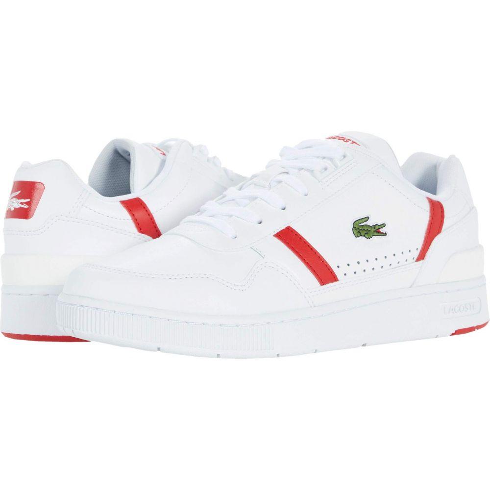 ラコステ メンズ シューズ 靴 スニーカー White 日本メーカー新品 サイズ交換無料 0721 2 値下げ T-Clip Red Lacoste