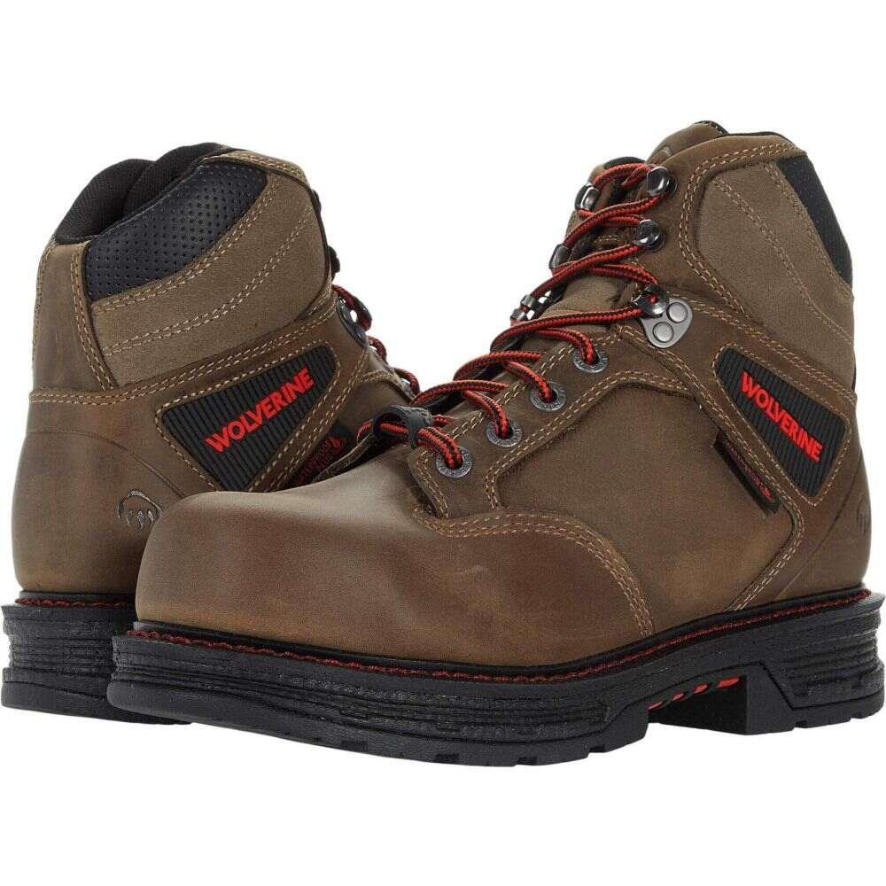 ウルヴァリン メンズ シューズ 評価 靴 ブーツ Gravel CarbonMAX 新品未使用正規品 Waterproof Hellcat 6' サイズ交換無料 Wolverine