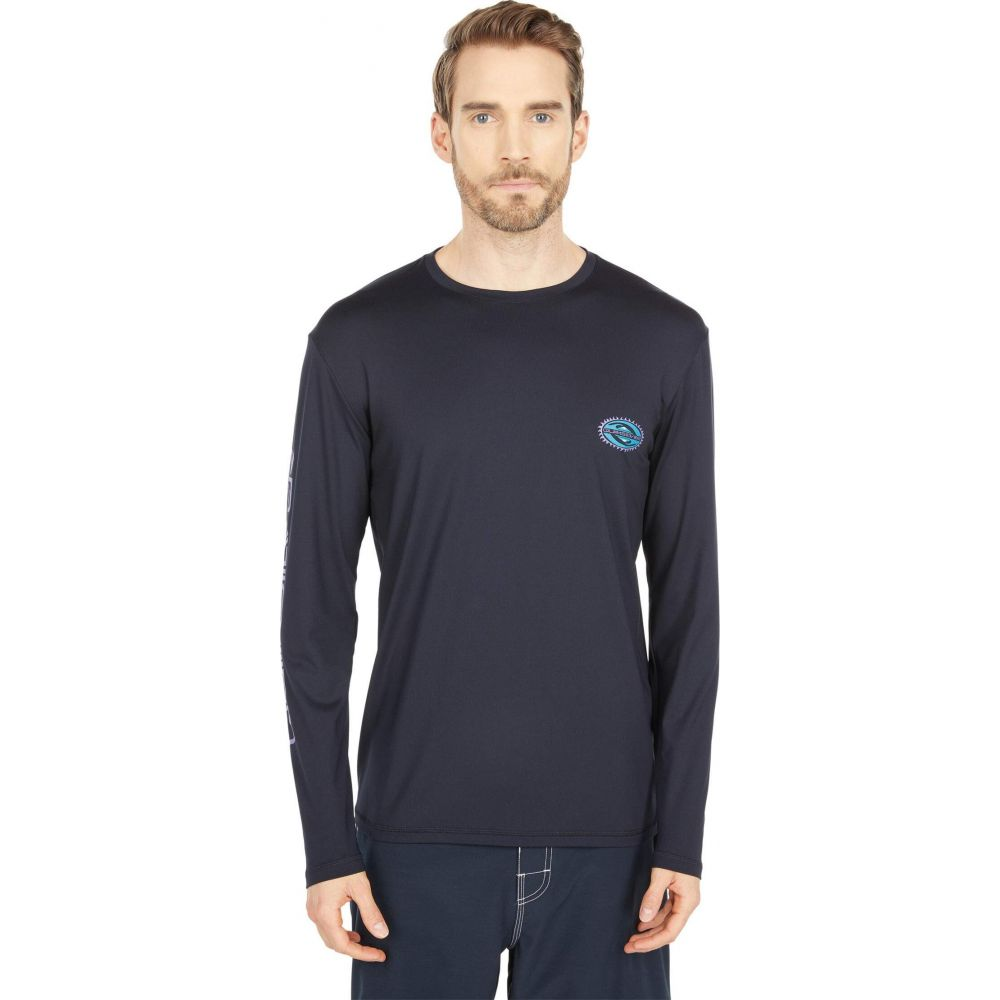 クイックシルバー メンズ 水着 ビーチウェア ラッシュガード Black サイズ交換無料 Quiksilver Surf Session Tシャツ Tee Mystic 新作からSALEアイテム等お得な商品 満載 お気に入り Long Sleeve