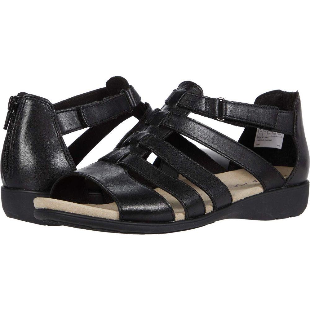 アラヴォン レディース シューズ セール 靴 サンダル ミュール サイズ交換無料 Gladiator セール Aravon Black Abbey グラディエーター