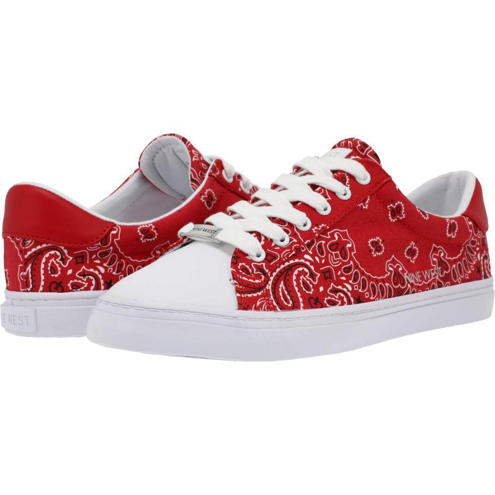 ナインウエスト レディース ついに再販開始 シューズ 靴 スニーカー 祝開店大放出セール開催中 Best West Nine Red サイズ交換無料