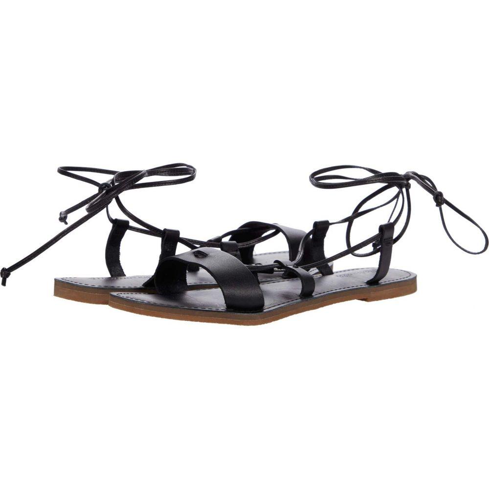 メイドウェル レディース シューズ 靴 サンダル ミュール True Black レースアップサンダル 返品不可 Ruby Sandal Lace-Up Madewell Boardwalk 人気急上昇 サイズ交換無料