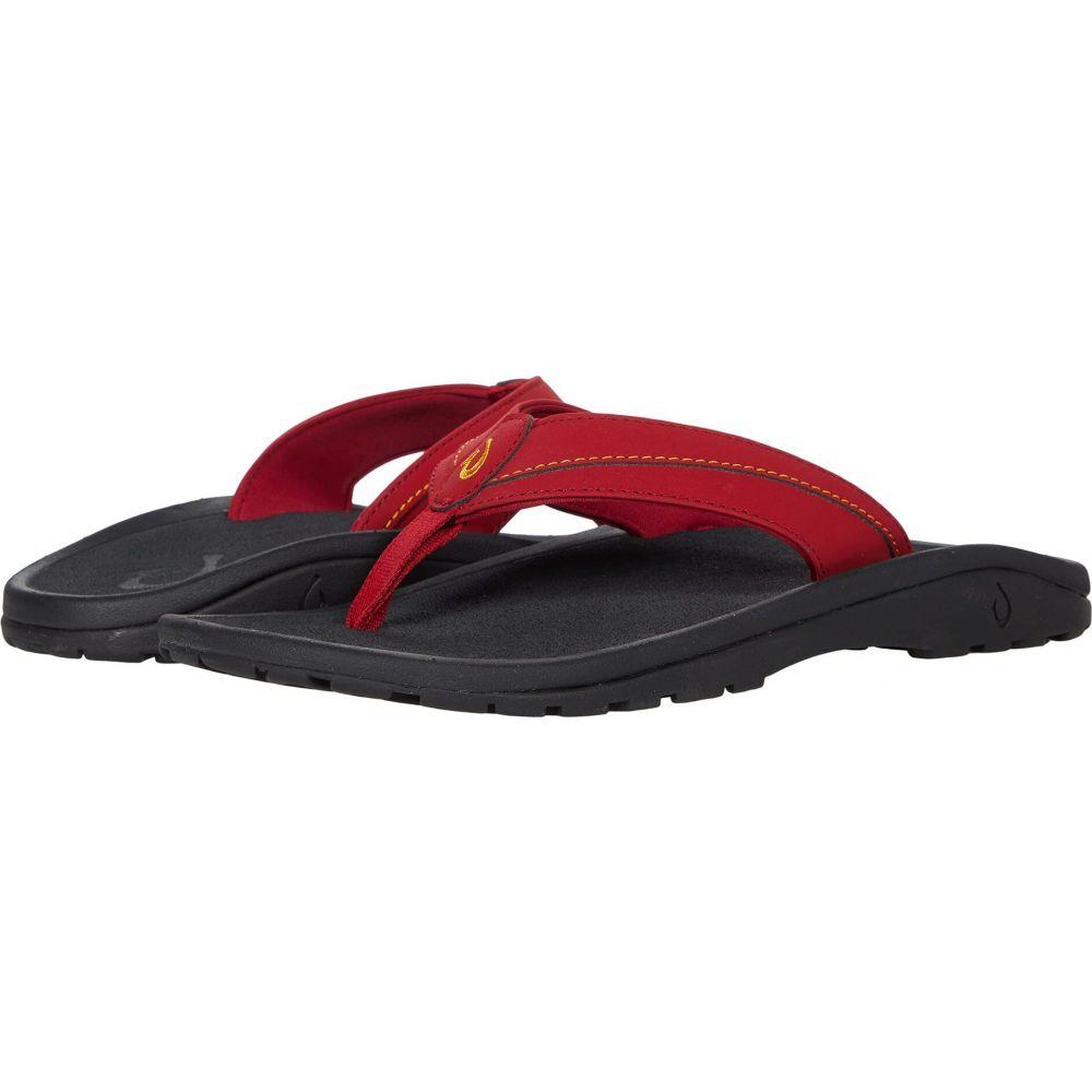 オルカイ メンズ シューズ・靴 ビーチサンダル Deep Red/Sunrise 【サイズ交換無料】 オルカイ OluKai メンズ ビーチサンダル シューズ・靴【Ohana Koa】Deep Red/Sunrise