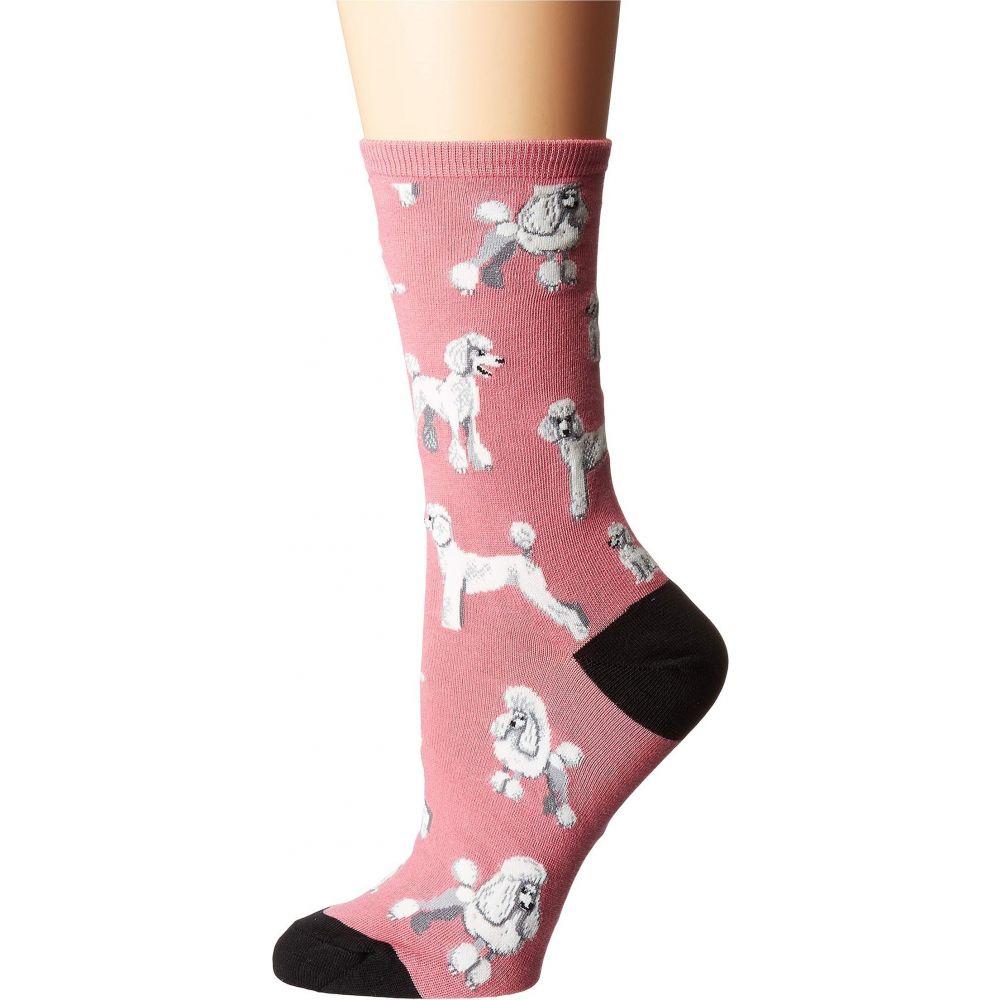 [宅送] ソックスミス レディース インナー 人気海外一番 下着 ソックス Pink Socksmith サイズ交換無料 Of Poodles Oodles