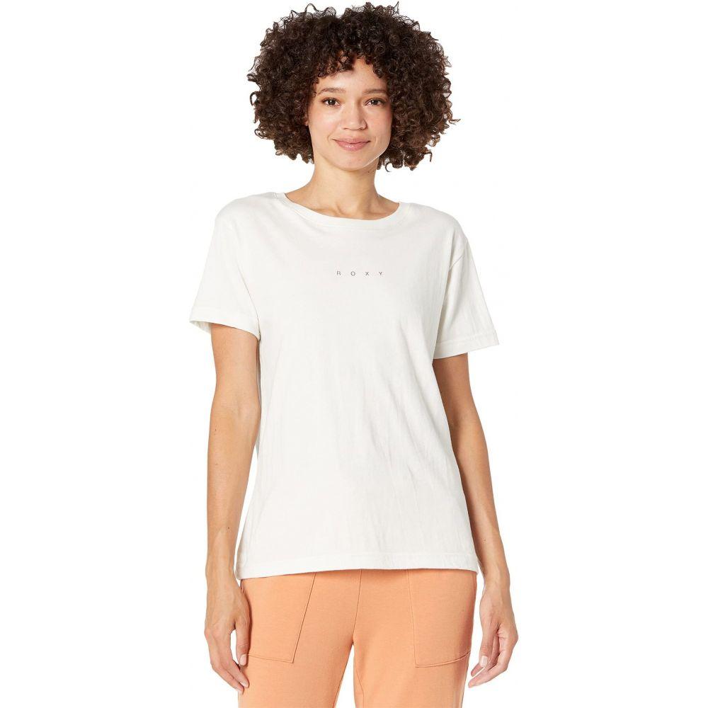 いよいよ人気ブランド ロキシー 高品質新品 レディース トップス Tシャツ Bright White サイズ交換無料 Short Love Roxy Sleeve Tee Beach