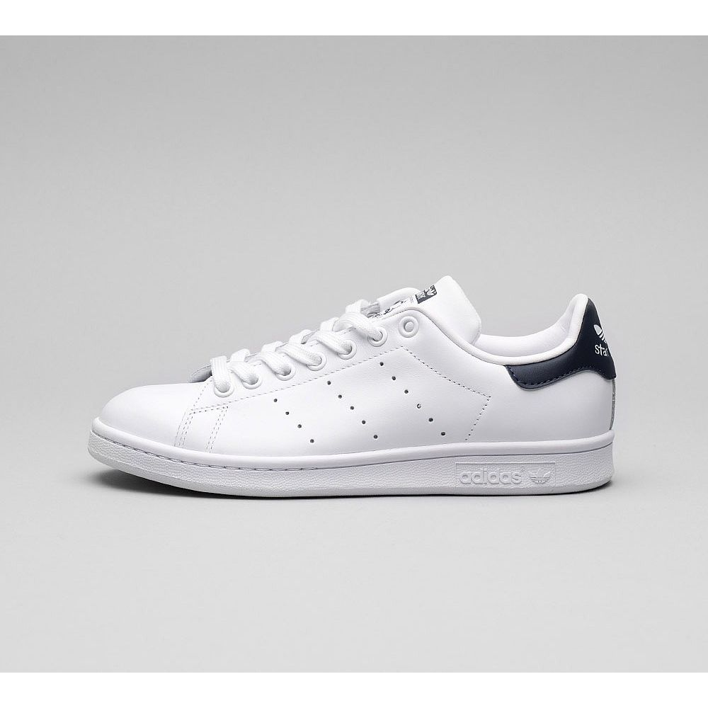 アディダス adidas Originals メンズ シューズ・靴 スニーカー【Stan Smith Trainer】White/White/Dark Blue