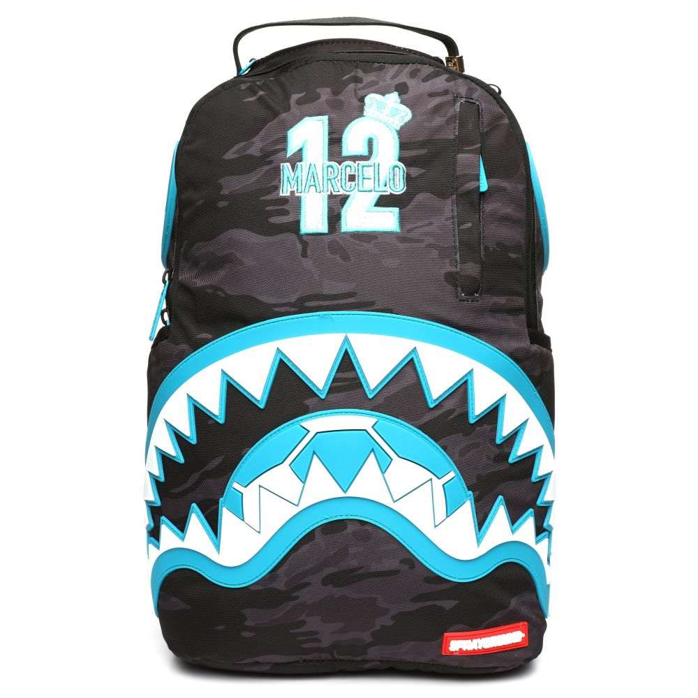 スプレイグラウンド Sprayground メンズ バッグ バックパック・リュック【marcelo blue rubber shark backpack (marcelo vieira collaboration)】Multi