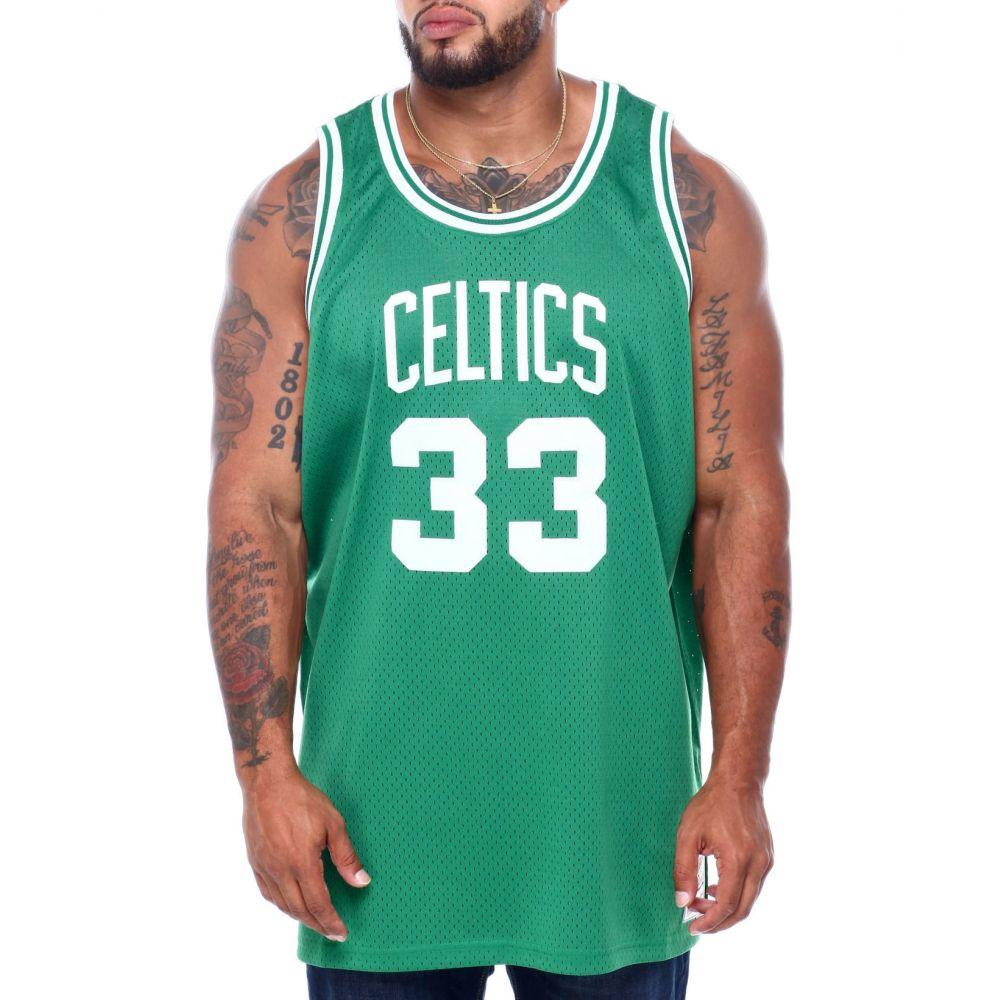 ミッチェル&ネス Mitchell & Ness メンズ トップス 【celtics bird swingman jersey (b&t)】Green