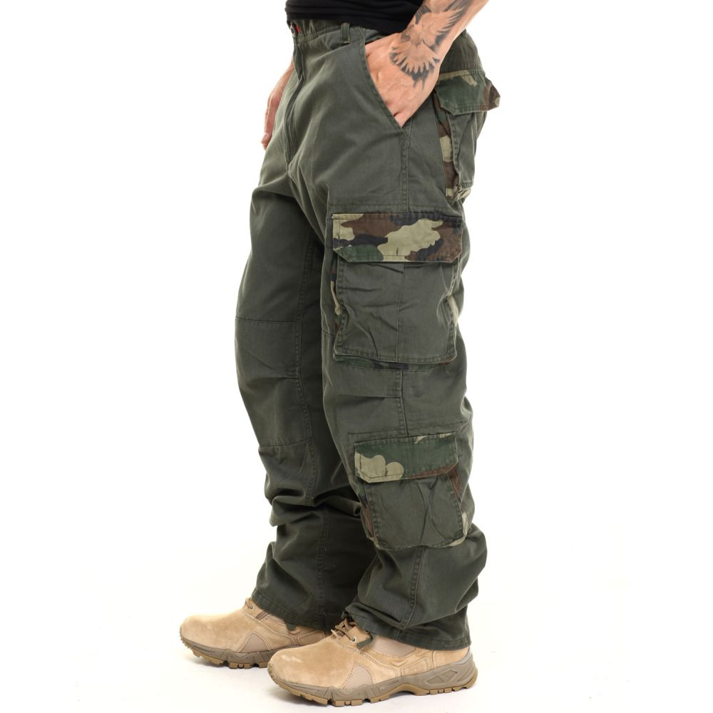 ロスコ Rothco メンズ ボトムス・パンツ 【vintage accent paratrooper fatigues】Olive Drab