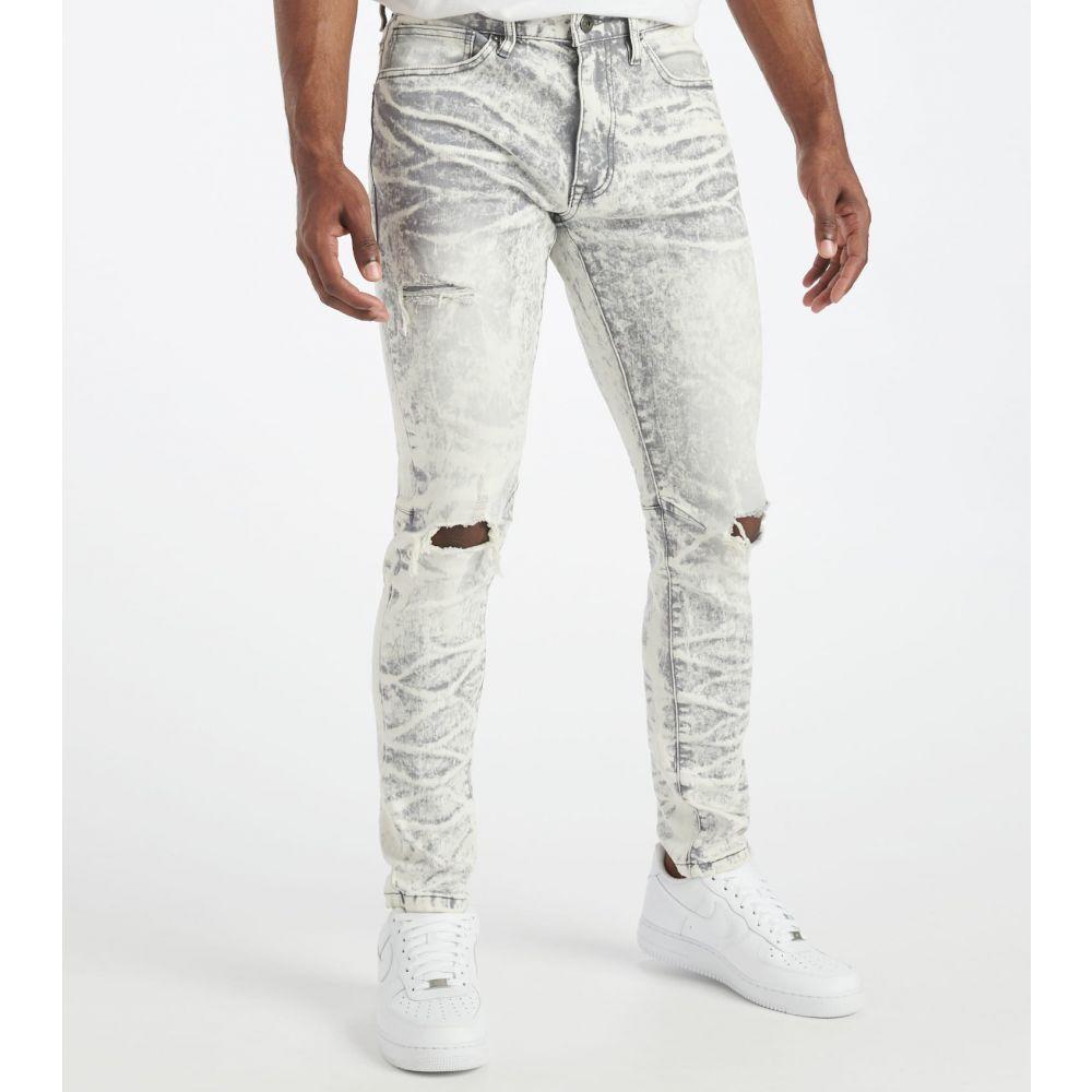 ボトムス・パンツ【Slim デシベル Tapered ジーンズ・デニム - L32】Ice メンズ Jeans Decibel Grey