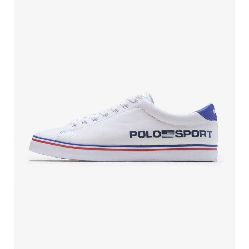 ラルフ ローレン Polo Footwear メンズ スニーカー シューズ・靴【Longwood Sport Sneaker】White