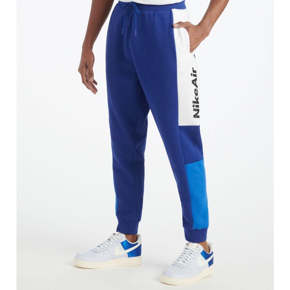 ナイキ Nike メンズ スウェット・ジャージ ボトムス・パンツ【NSW Air Fleece Pants】Deep Royal Blue/White