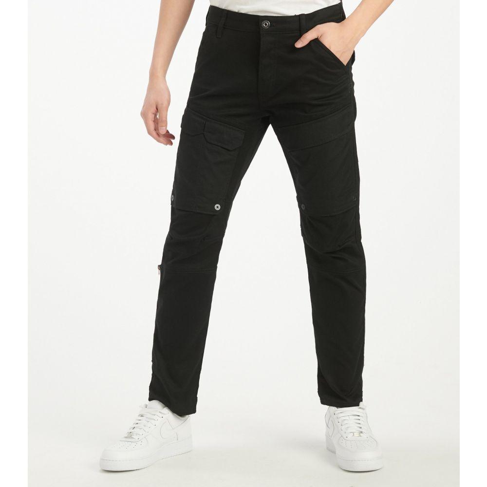ジースター ロゥ G-Star メンズ カーゴパンツ ボトムス・パンツ【Front Pocket Slim Cargo Pant】Dark Black