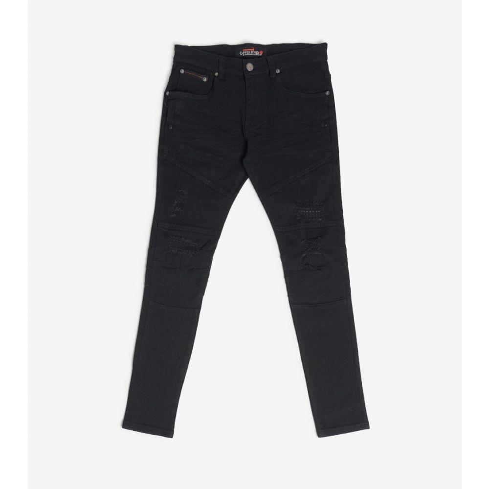 デシベル Decibel メンズ ボトムス・パンツ 【Side Pocket Twill Pants】Black
