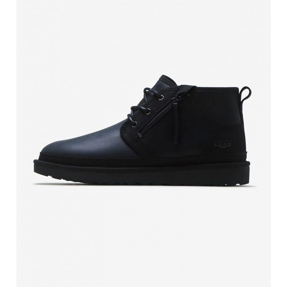アグ Ugg メンズ ブーツ シューズ・靴【Neumel Zip】Black/Tnl