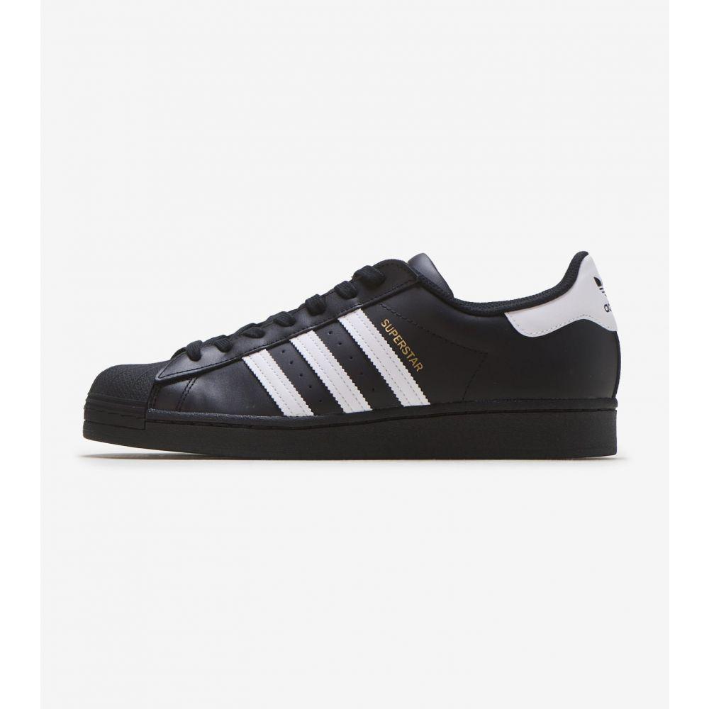 アディダス Adidas メンズ スニーカー シューズ・靴【Superstar】Black/White