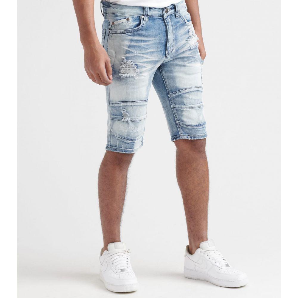 ヘリテイジ Heritage メンズ ショートパンツ ボトムス・パンツ【Backing Shorts】Indigo