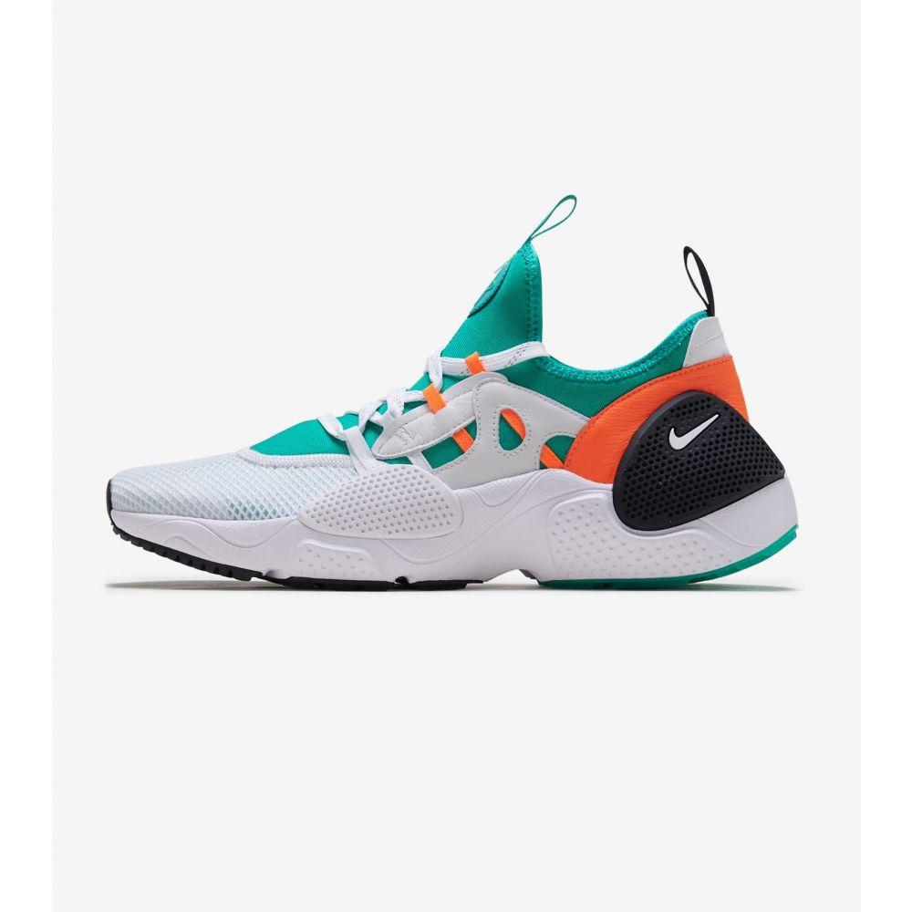 ナイキ Nike メンズ フィットネス・トレーニング シューズ・靴【Huarache E.D.G.E. TXT QS】White/Clear Emerald/Total Orange