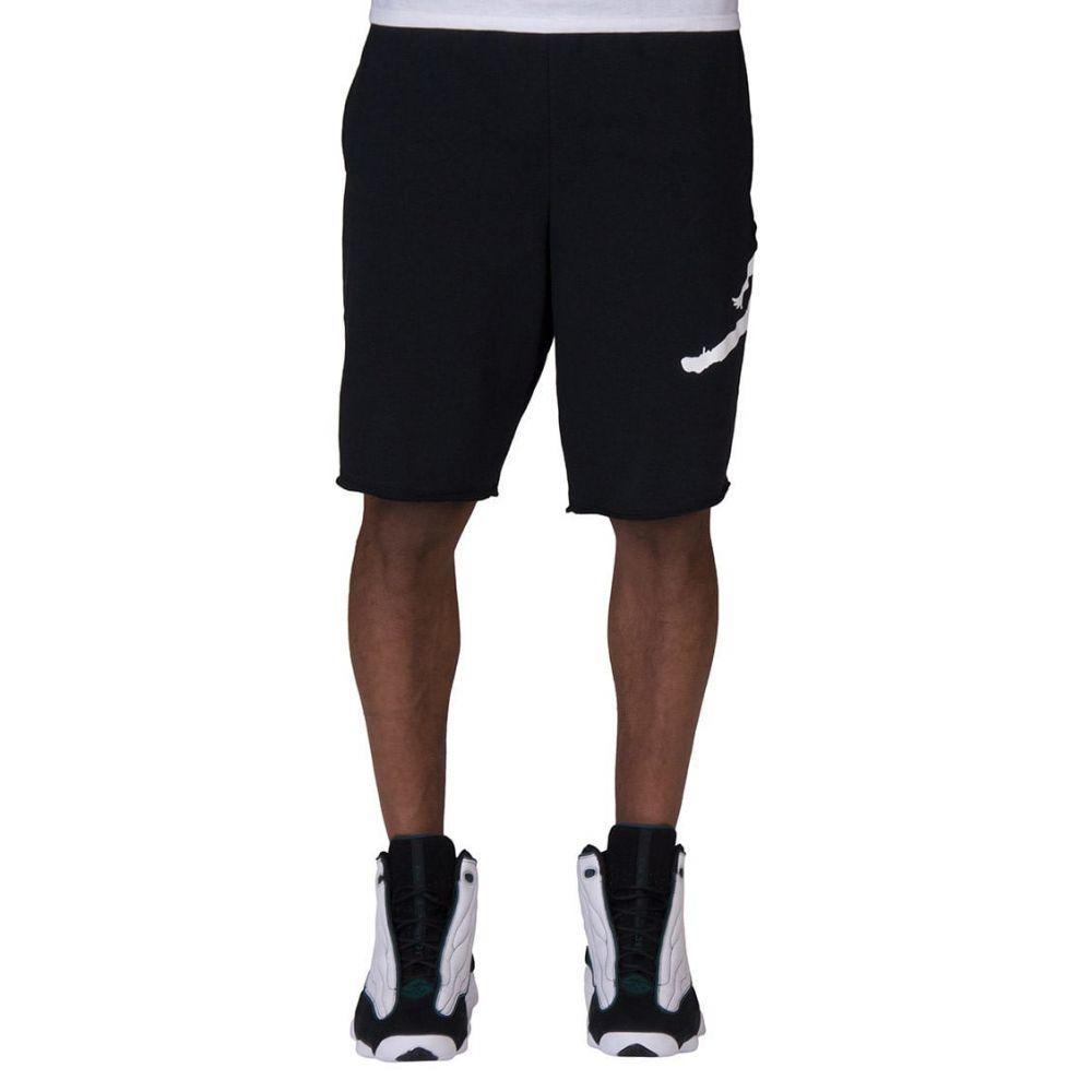 ナイキ ジョーダン Jordan メンズ ショートパンツ ジャンプマン ボトムス・パンツ【Jumpman Air Fleece Shorts】Black/White