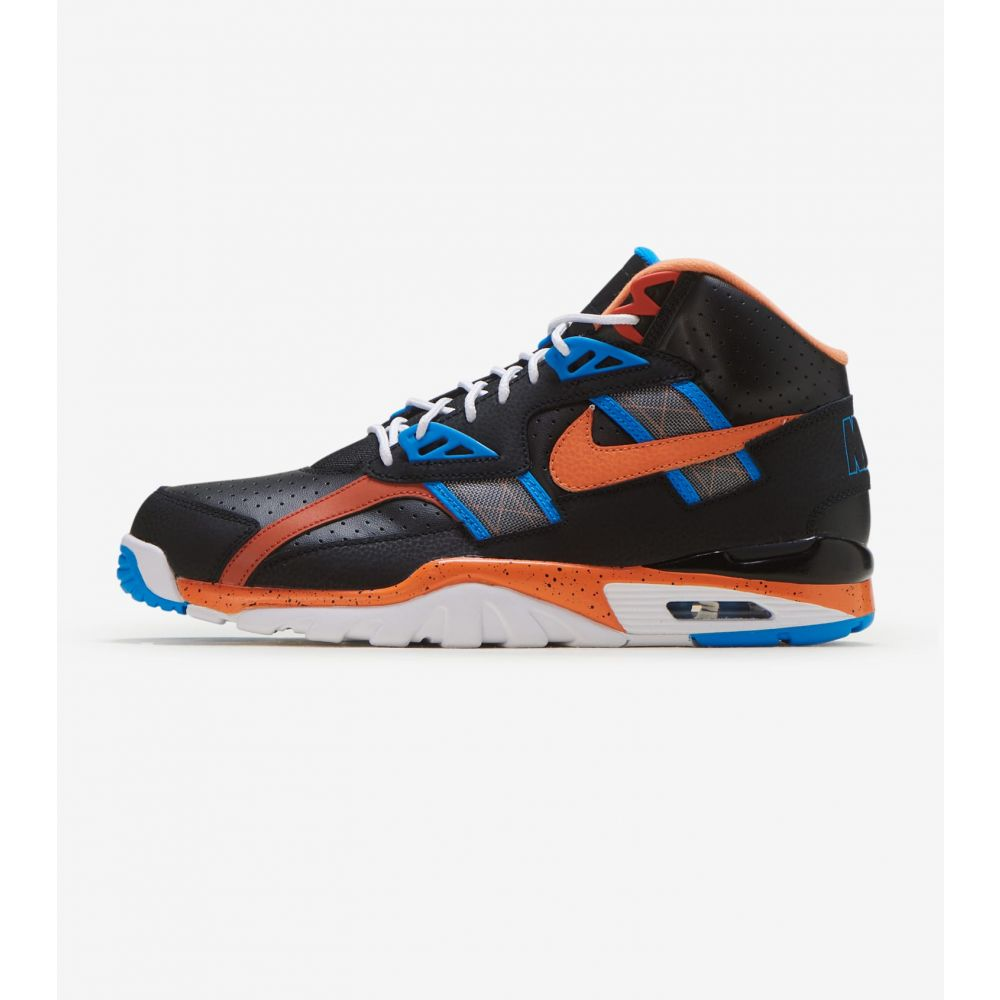 ナイキ Nike メンズ フィットネス・トレーニング スニーカー シューズ・靴【Air Trainer SC HI】Black/Orange