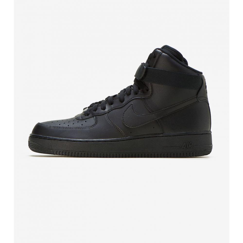 ナイキ Nike Sportswear メンズ スニーカー エアフォースワン シューズ・靴【Air Force 1 Hi】Black/Black