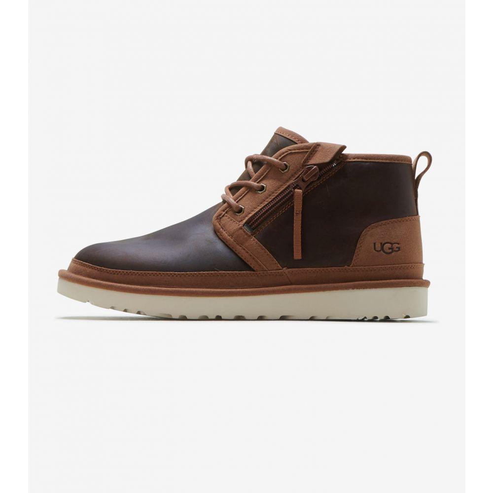 アグ Ugg メンズ ブーツ シューズ・靴【Neumel Zip】Chestnut