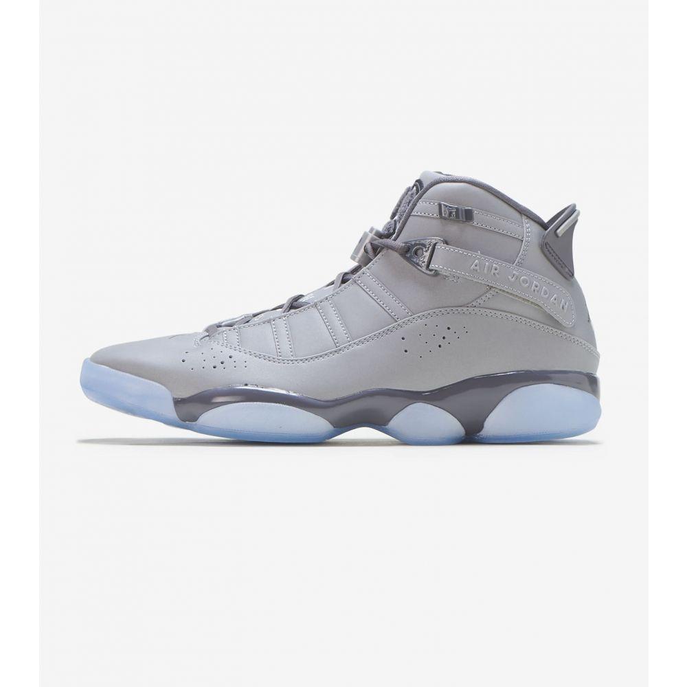 ナイキ ジョーダン Jordan メンズ スニーカー シューズ・靴【6 Rings】Silver/White