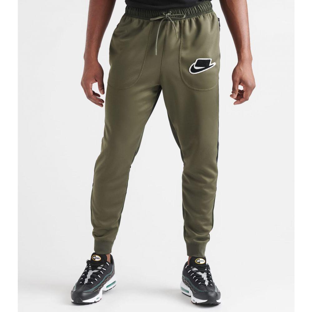 ナイキ Nike メンズ スウェット・ジャージ ボトムス・パンツ【NSW Track Pants】Cargo Khaki/Sequoia/Black