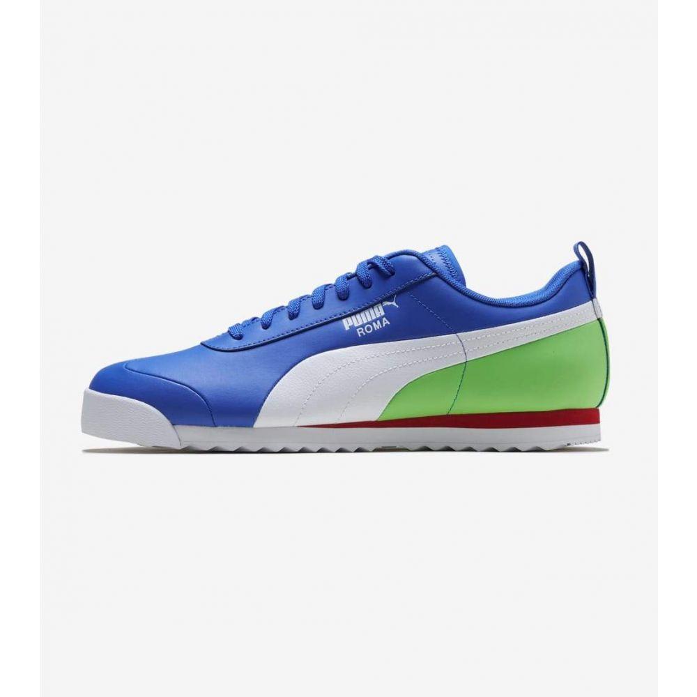 プーマ Puma メンズ シューズ・靴 【Roma】Royal/Green/Red