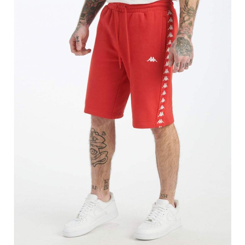 カッパ Kappa メンズ ショートパンツ ボトムス・パンツ【222 Banda Marvs Shorts】Red/White