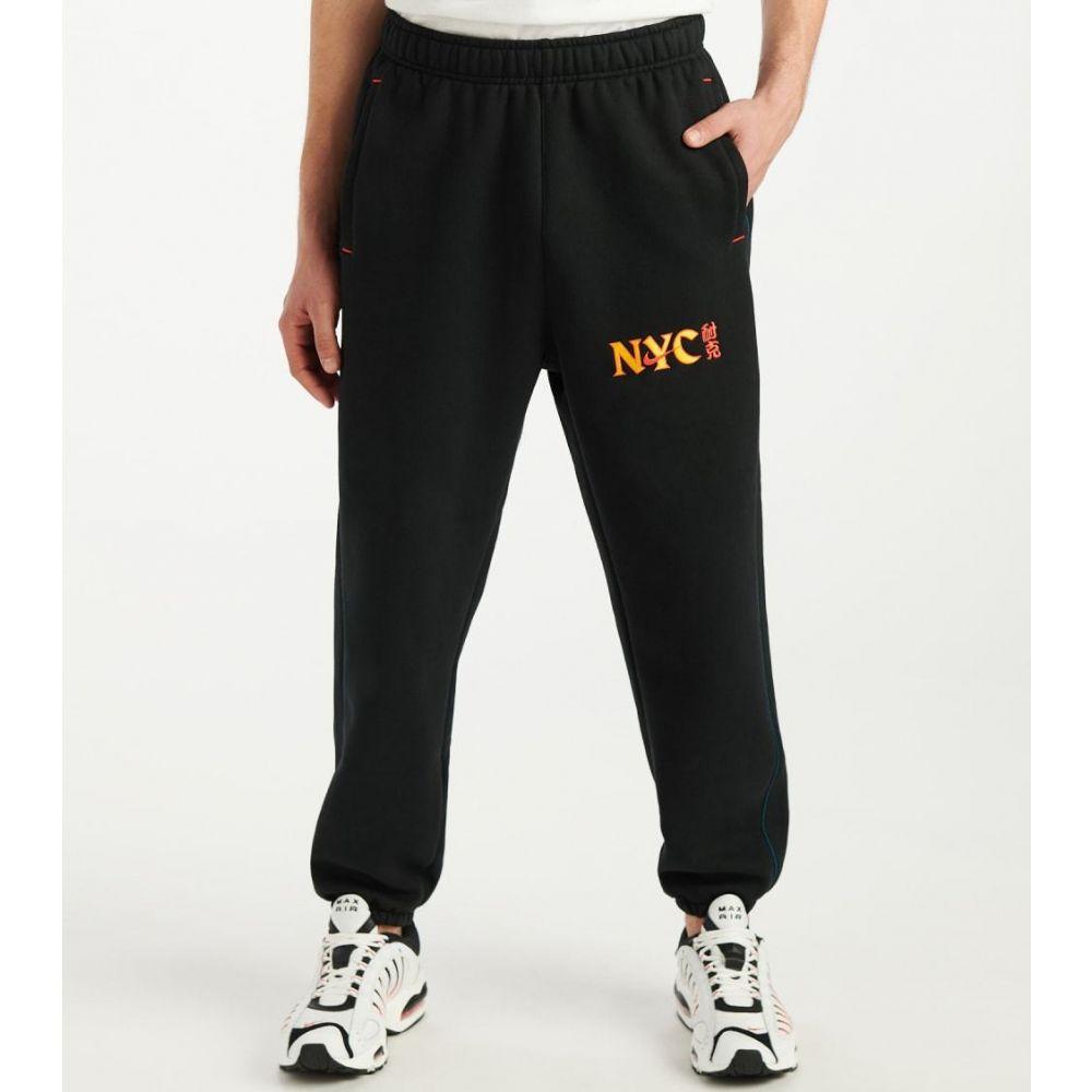 ナイキ Nike メンズ スウェット・ジャージ ボトムス・パンツ【NSW Heavyweight NYC Chinatown Pants】Black/Lotus Pink
