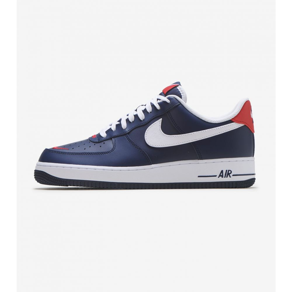 ナイキ Nike メンズ スニーカー エアフォースワン シューズ・靴【Air Force 1 07 LV8】Navy/White/Red