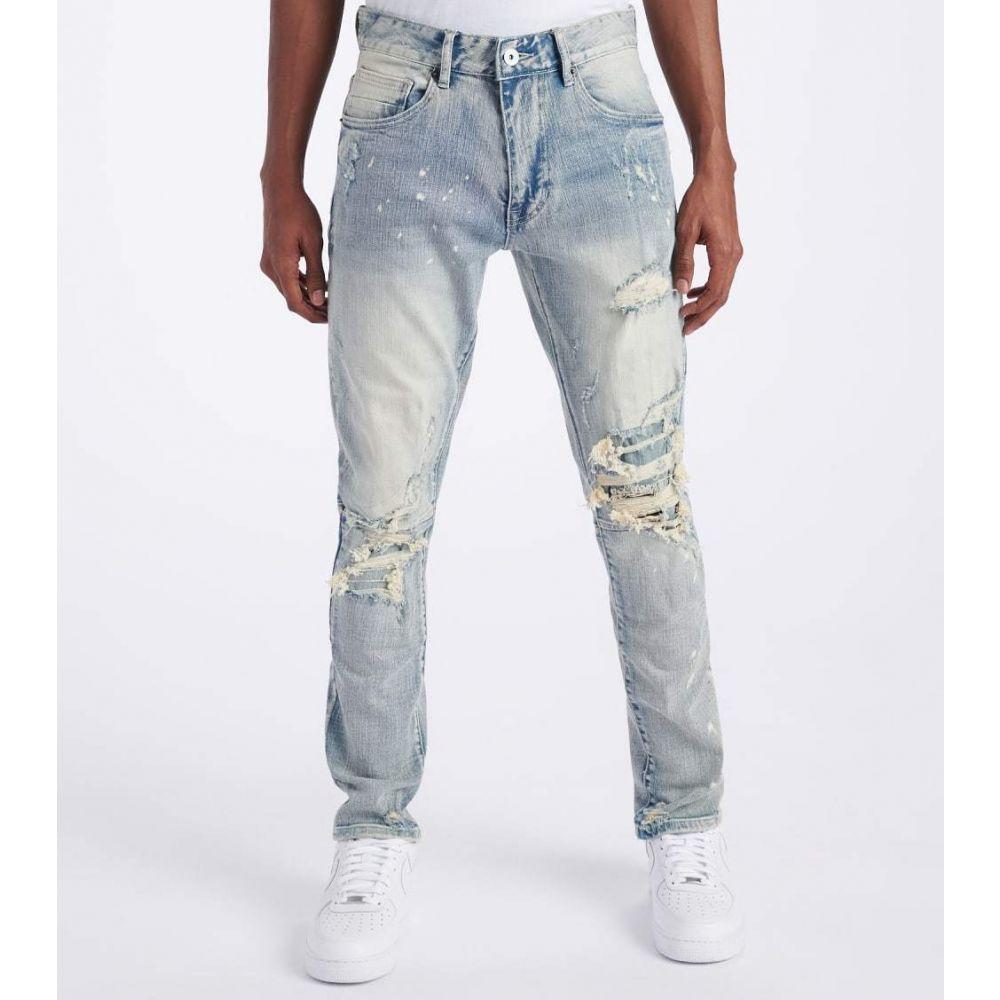 デシベル Decibel メンズ ジーンズ・デニム ボトムス・パンツ【Slim Jeans】Cascade Blue
