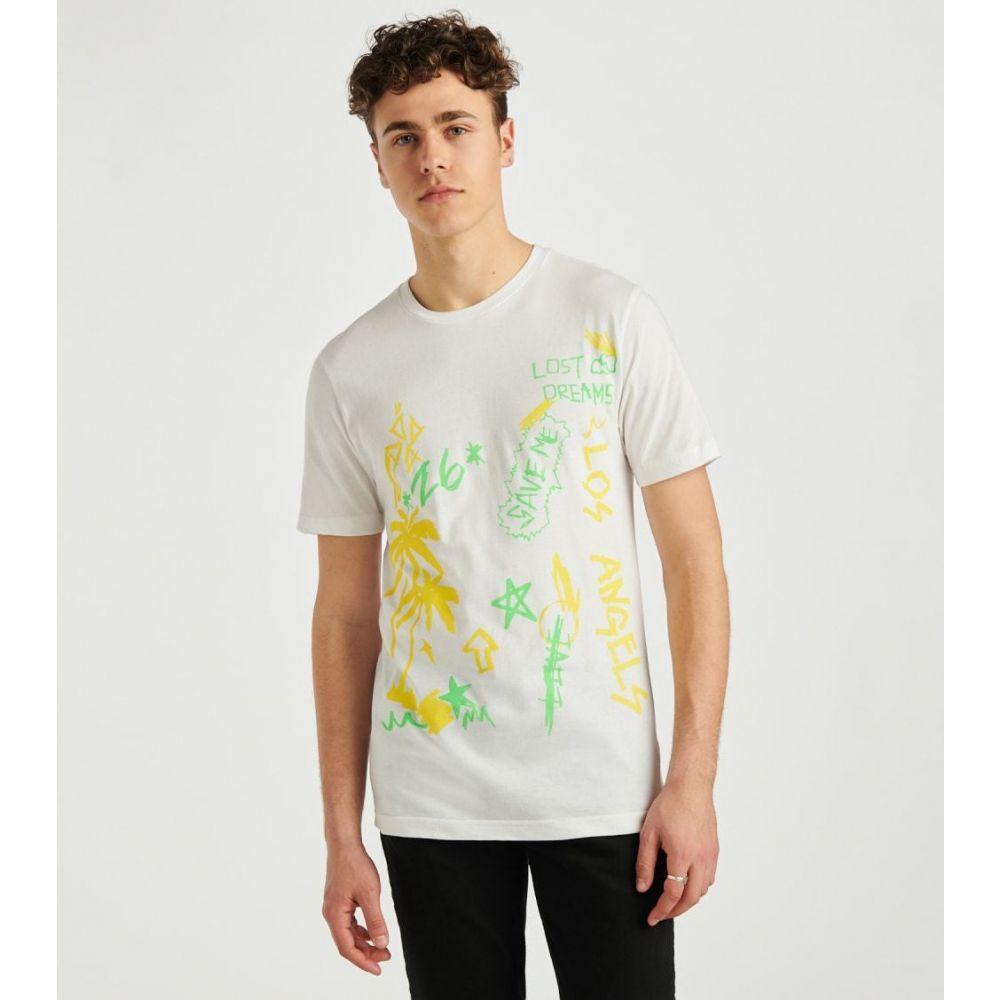 デシベル Decibel メンズ Tシャツ トップス【Aaron 3 Tee】White