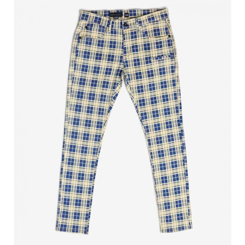 デシベル Decibel メンズ ボトムス・パンツ 【Plaid Pants】Blue/White