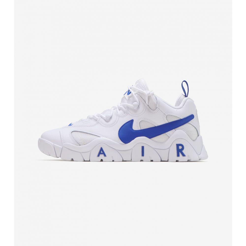 ナイキ Nike メンズ フィットネス・トレーニング シューズ・靴【Air Barrage Low】White/Royal