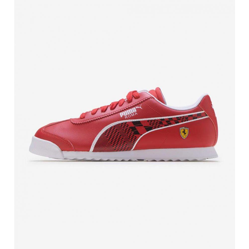 プーマ Puma メンズ シューズ・靴 【Roma Ferrari】Red/Black