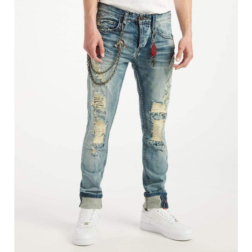 スマグラーズ ムーン Smugglers Moon メンズ ジーンズ・デニム ボトムス・パンツ【Stretch JeansWith Backing and Cuff】Medium Wash