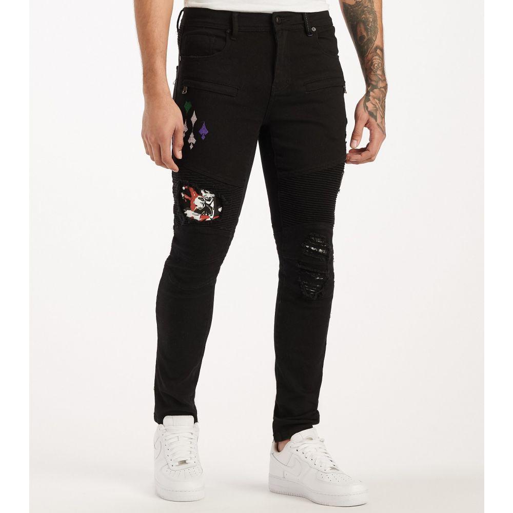 DE.KRYPTIC メンズ ジーンズ・デニム ボトムス・パンツ【Joker Jeans】Black