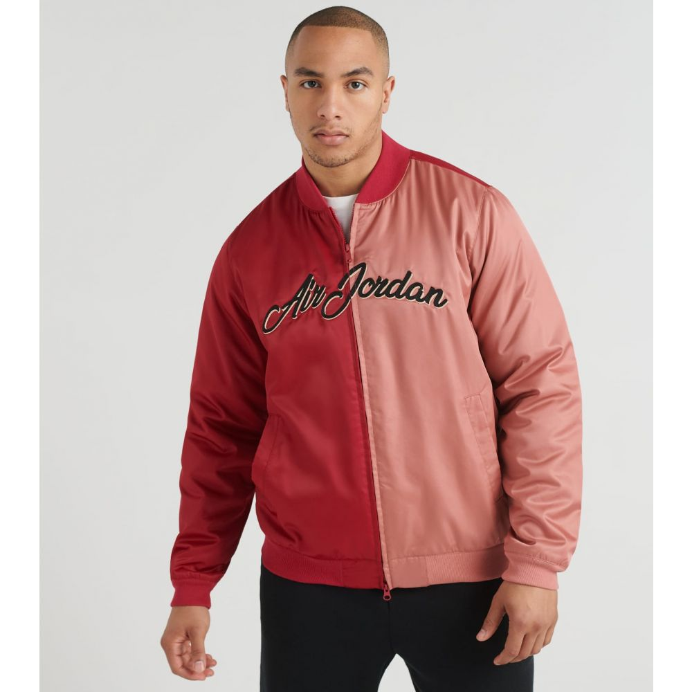 ナイキ ジョーダン Jordan メンズ ジャケット アウター【Remastered Jacket】Noble Red/Canyon Pink/Black