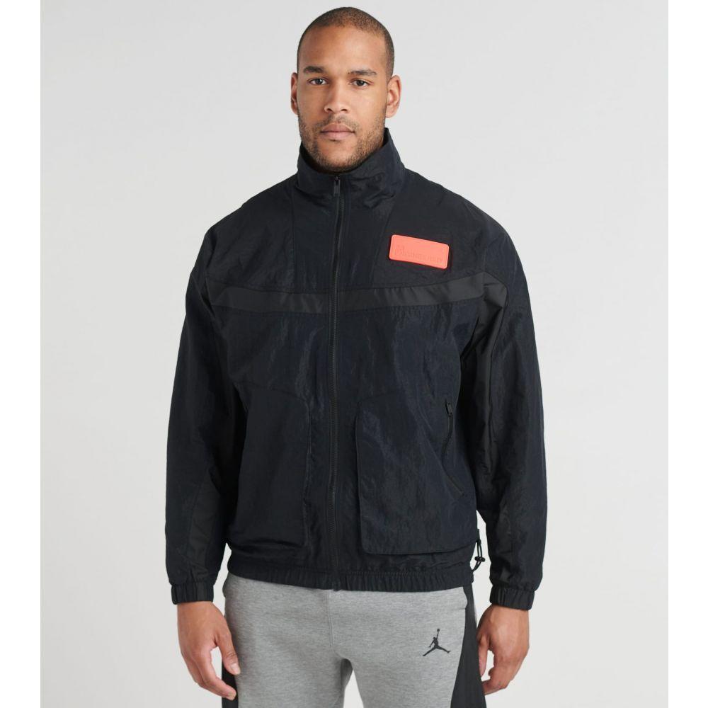ナイキ ジョーダン Jordan メンズ ジャケット アウター【23ENG Nylon Jacket】Black/Infrared