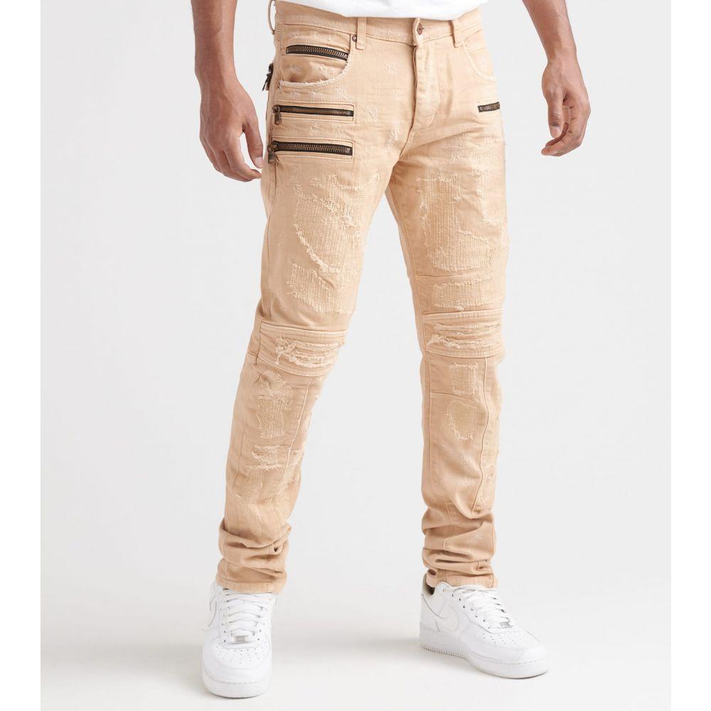 ロックスター Rock Star メンズ ジーンズ・デニム ボトムス・パンツ【Zipper Jeans】Sand