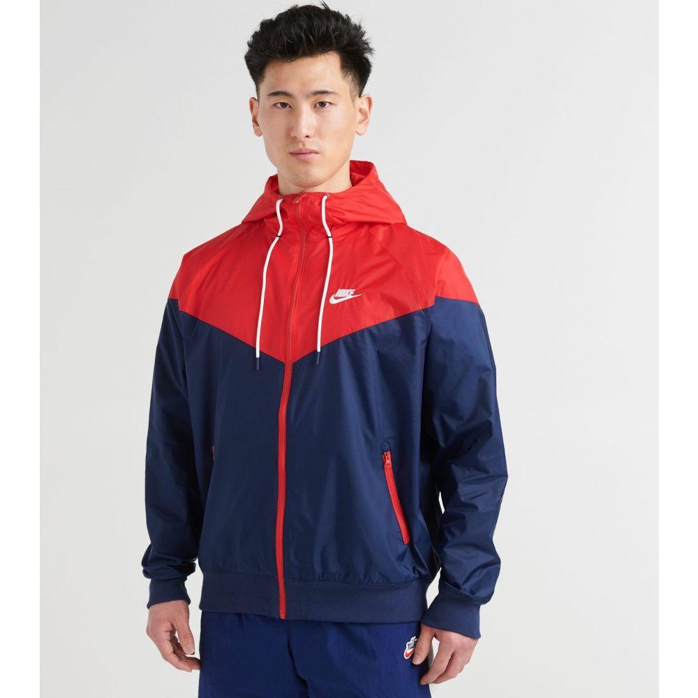 ナイキ Nike メンズ ジャケット アウター【NSW Windrunner Jacket】Midnight Navy/University Red/White